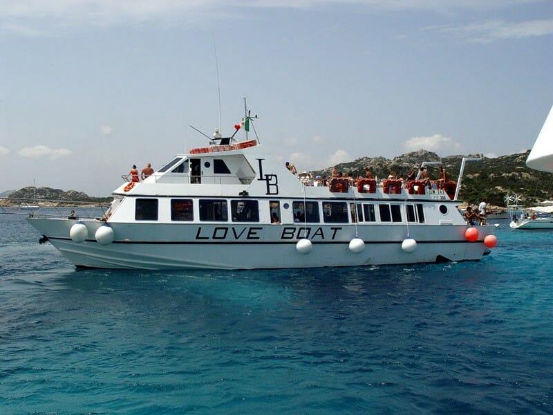 motonave loveboat gita a la maddalena