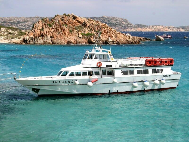 motonave Tour Arcipelago di la Maddalena