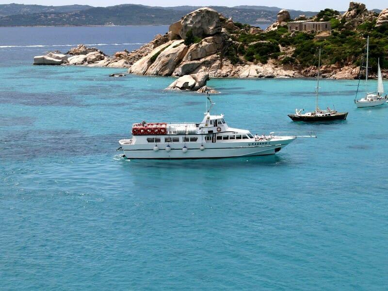 gita in barca arcipelago la maddalena